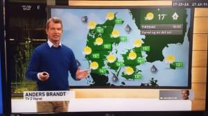 Anders Brandt - TV 2 VEJRET