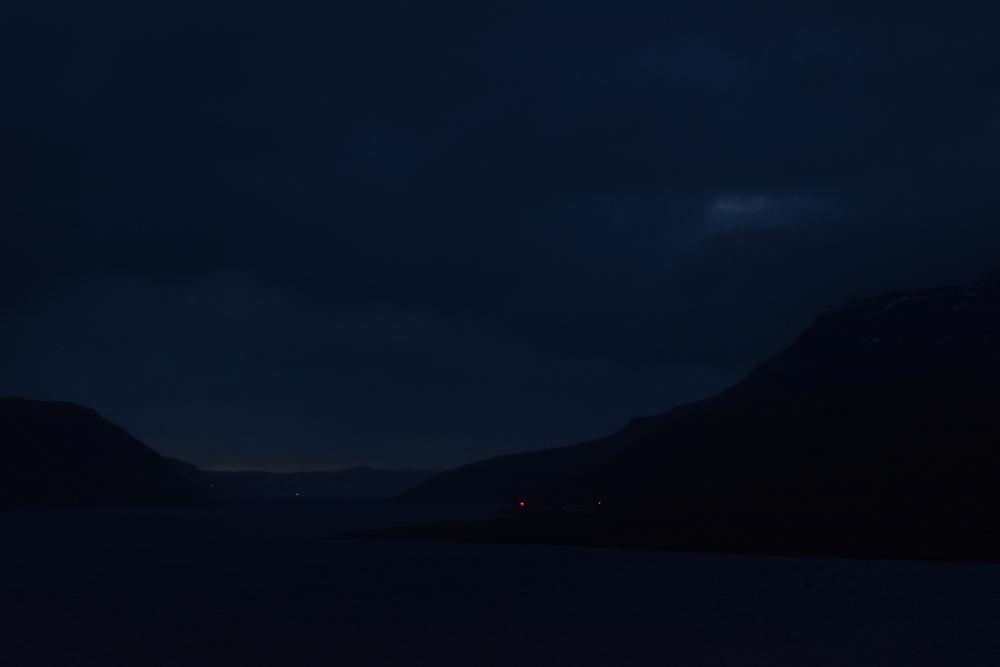 Total solformørkelse ved Hvalvik på Streymoy den 20. marts 2015 kl. 9.41.50 Foto: Anders Brandt